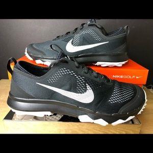 Nike FI Bermuda Wide Black Spikeless Golf Shoes